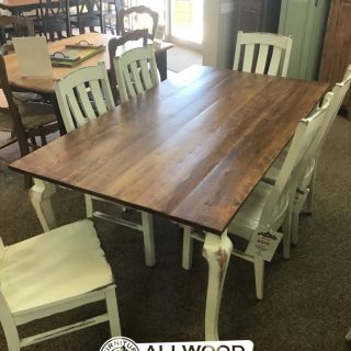 "40"" x 6' Cabriole Leg Table @ Baton Rouge in Stock BR-9931"
