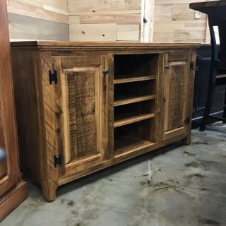 "20"" X 5"" X 36"" Rustic ShakerTv Stand @Pinhook in Stock PH-349"