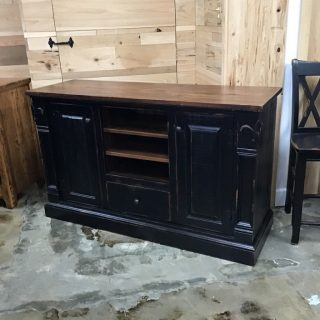 "20"" X 5' X 36"" Fleur De Lis Tv Stand @ Pinhook In Stock  PH-9924"