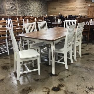 "40"" X 6' Country French Table @ Pinhook In Stock PH-9909"
