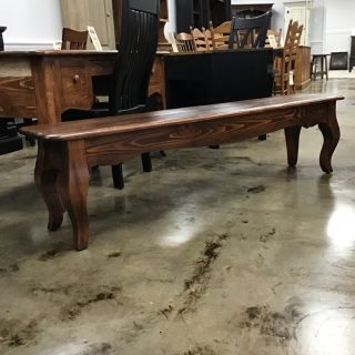 6' French Bench @ Pinhook In Stock PH-355