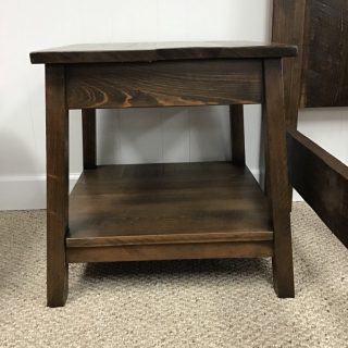 "22"" X 22""X 24"" End Table @ Pinhook In Stock PH-359"