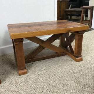 "24"" X 36"" X 18"" Vintage X Coffee Table @ Pinhook In Stock PH-367"