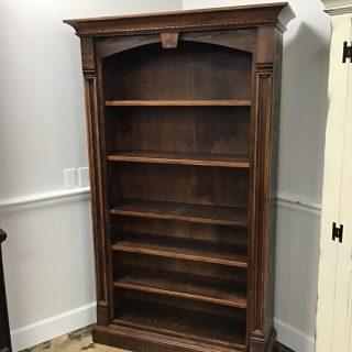 "40"" X 12"" X 74"" Rustic Empire Bookcase @ Pinhook In Stock PH-368"