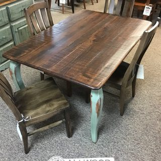 40″ x 5′ French Leg Table @ Baton Rouge in Stock BR-10393