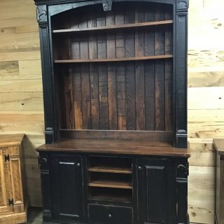 "12/20"" X 60"" X 96"" Fleur De Lis Tv Stand @ Pinhook In Stock PH-9924"