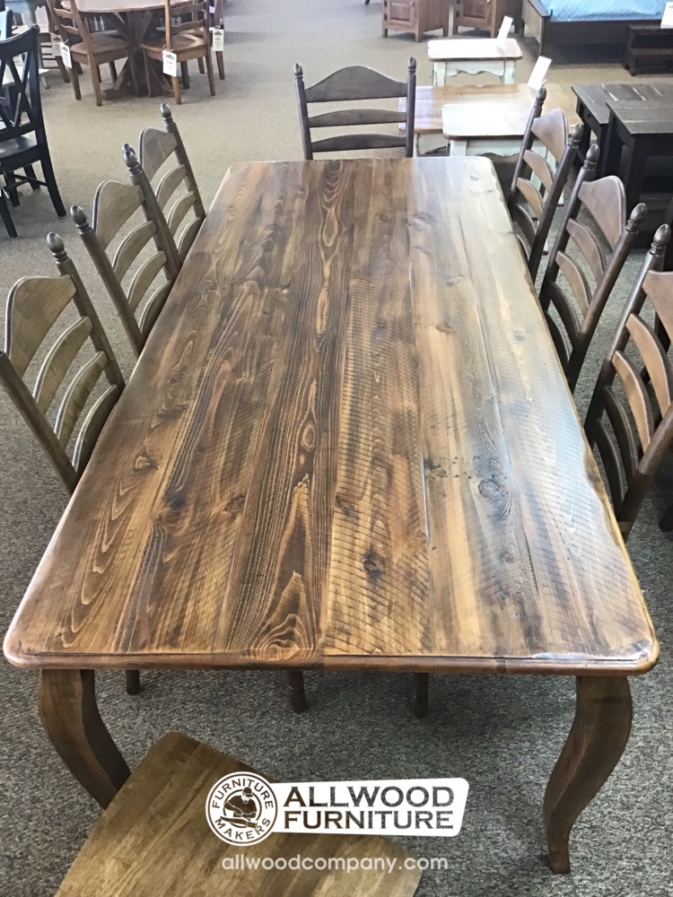 40 X 8 French Leg Table Baton Rouge Br 9904 Sold All