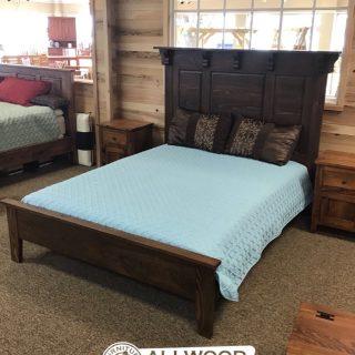 Heritage Raised Panel Bed w/ Corbels @Baton Rouge in Stock PH-348