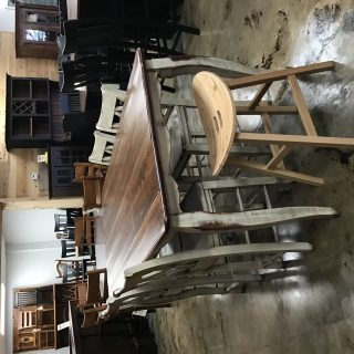 """40"""" X 6'  French Pub Table @ Pinhook in Stock PH-10357"""