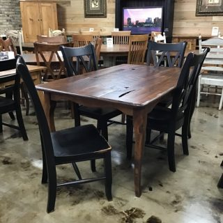 "40"" X 5' Creole Table @ Pinhook In Stock PH- 9969"