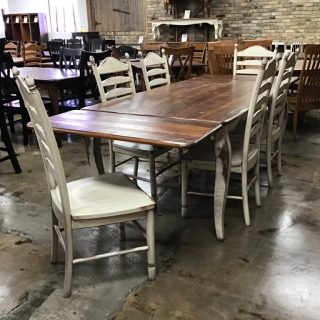 "40"" X 6' French Table @ Pinhook In Stock PH-10510"