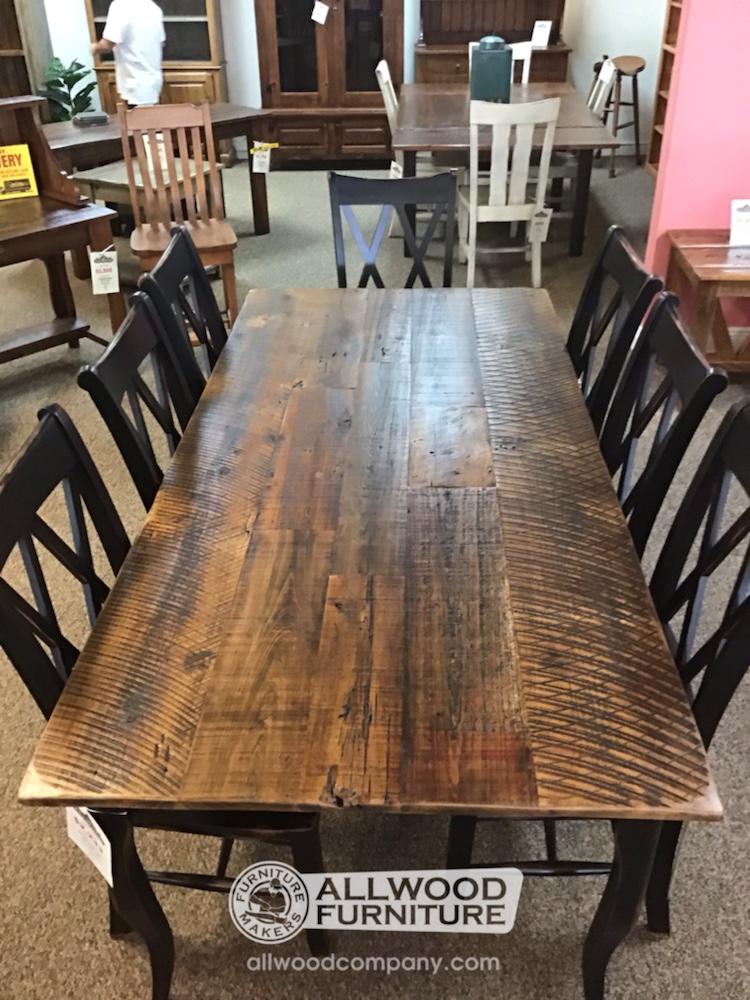 40 X 7 Barnwood Top Creole Leg Table Baton Rouge In