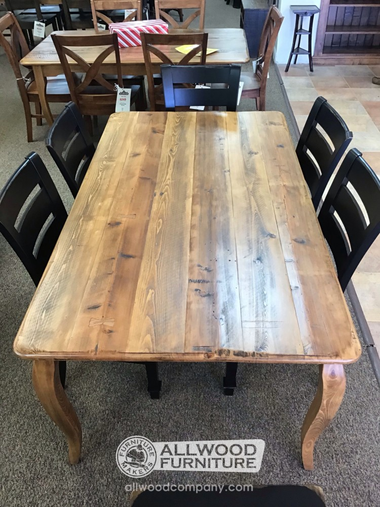 40 X 6 French Leg Table Baton Rouge In Stock Br 11680