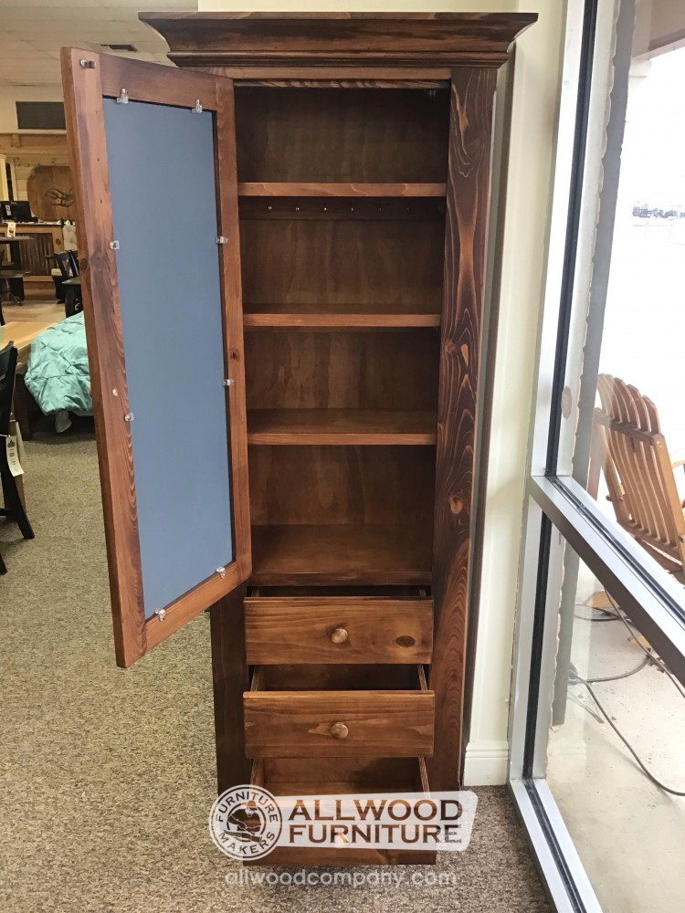Jewelry Cabinet W Mirror Baton Rouge In Stock Br 12775