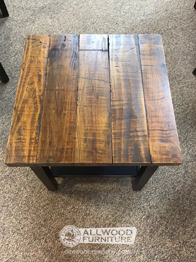 Modern Rustic End Table Baton Rouge In Stock Br 12780