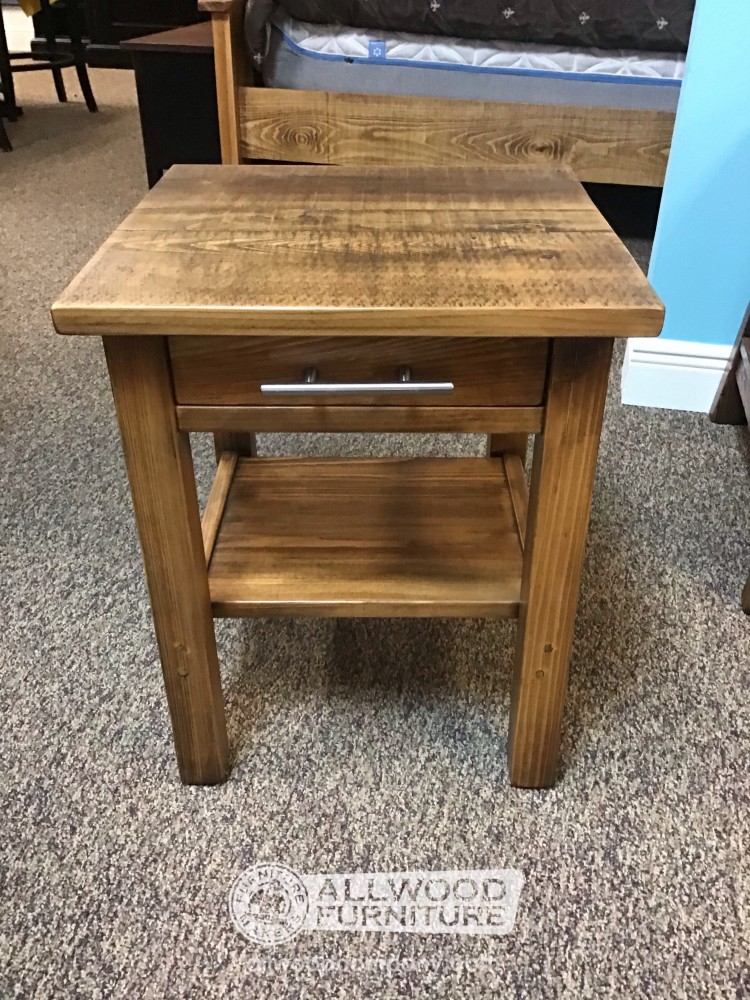 Modern Rustic Night Stand Baton Rouge In Stock Br 12817